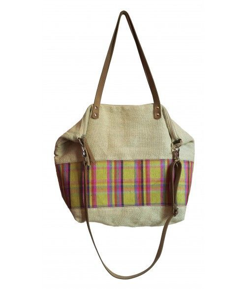 Linen and silk carrycot